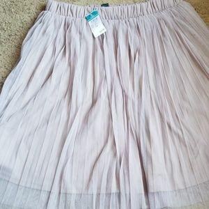 Rue21 pleaded light purple skirt